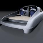 Mercedes Benz: первые изображения лодки Silver Arrow