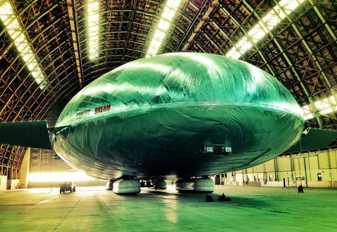 Aeros завершает строительство демонстратора Aeroscraft