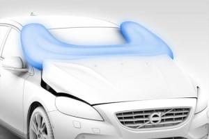 Volvo представила подушки безопасности для пешеходов