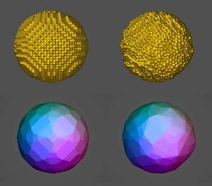 Исследователи выяснили механизм проникновения наночастиц золота через клеточные стенки