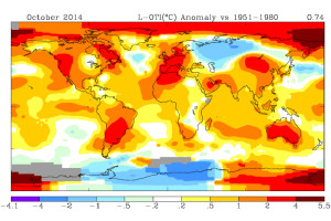 НАСА: глобальная погода бьет температурные рекорды