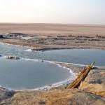 Всего за сутки в центре пустыни в Тунисе образовалось озеро