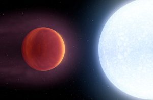 Ученые обнаружили испаряющуюся планету