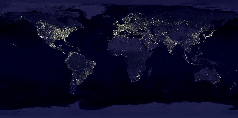 Мегаполисы влияют на температуру территорий, удаленных на тысячи километров