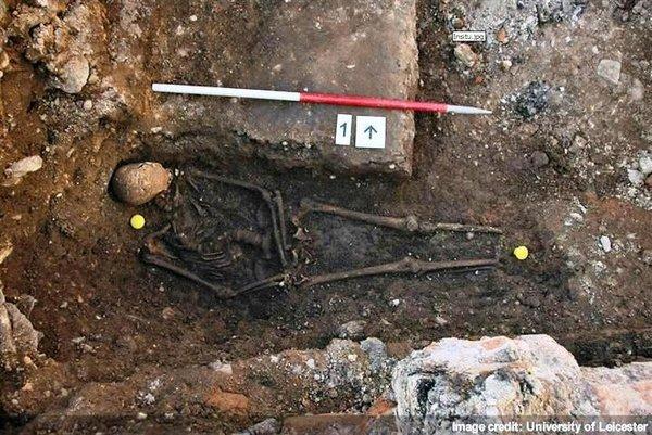 Ученые Лестера идентифицировали останки короля Ричарда III