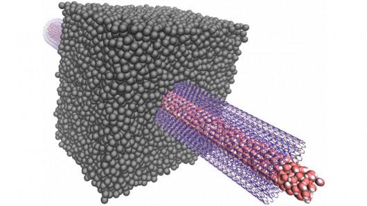 Нанотрубки способны повысить потенциал осмотических электростанций