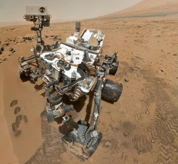 Марсоход NASA перешел в безопасный режим из-за с сбоя флэш-памяти