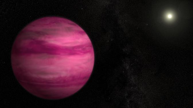 Астрономы получили изображения планеты, вращающейся вокруг похожей на Солнце звезды