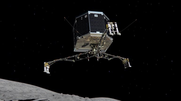 Rosetta начинает охоту за кометой 67P/Чурюмова-Герасименко
