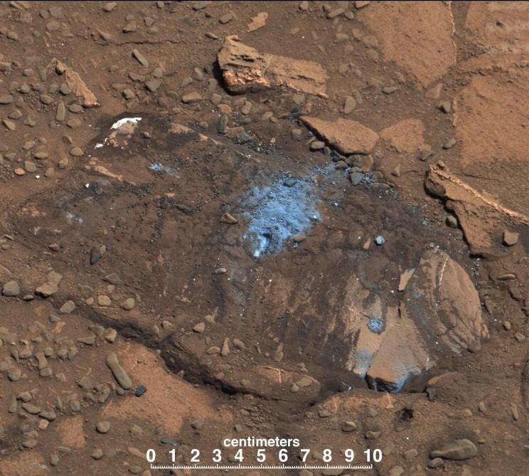 Марсоход НАСА достиг горы Шарп