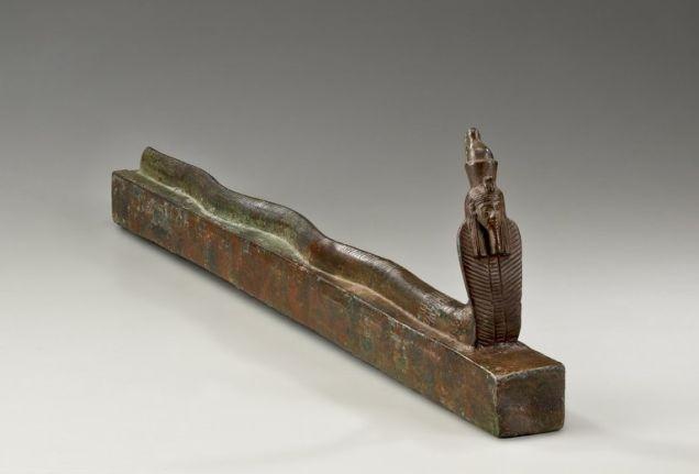 В Древнем Египте мумифицировали даже змей