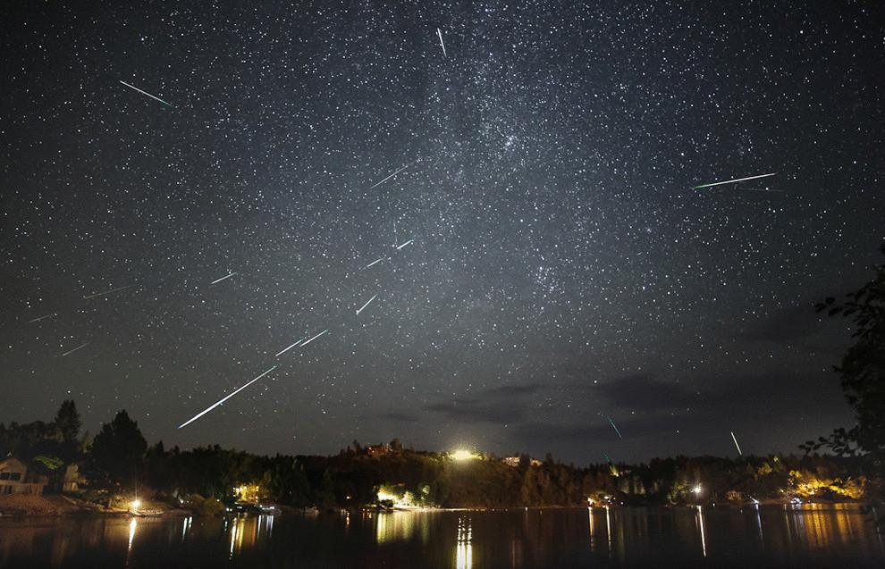 метеоритный дождь Персеид